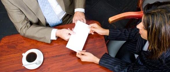 ilustrasi karyawan mengundurkan diri