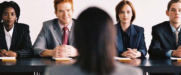 ilustrasi di wawancara kerja