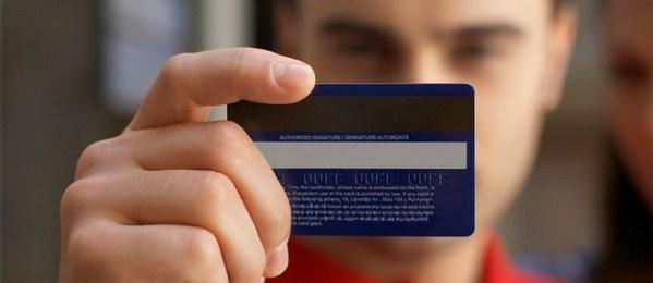 ilustrasi kartu kredit pertama