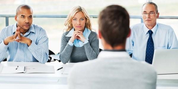 Ilustrasi saat wawancara kerja