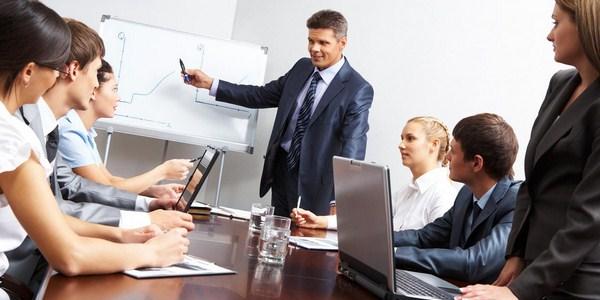 Ilustrasi orientasi karyawan
