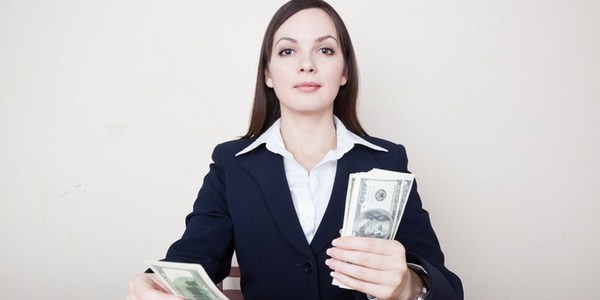 Ilustrasi gaji besar