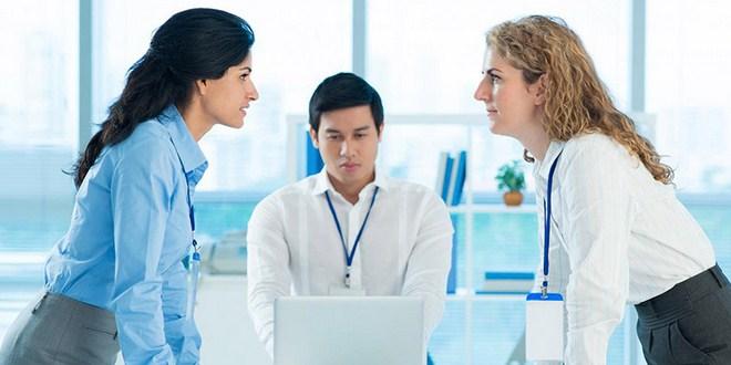 Ilustrasi penyebab konflik di tempat kerja
