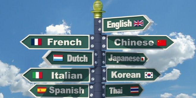 Ilustrasi bahasa negara tujuan