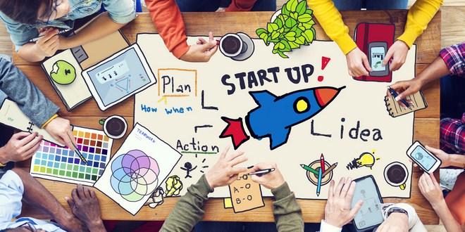 Ilustrasi model bisnis untuk startup