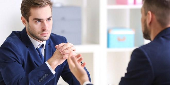 Ilustrasi wawancara manajer proyek